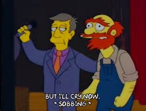 Groundskeeper Willy was actually in charge, not Principal Skinner